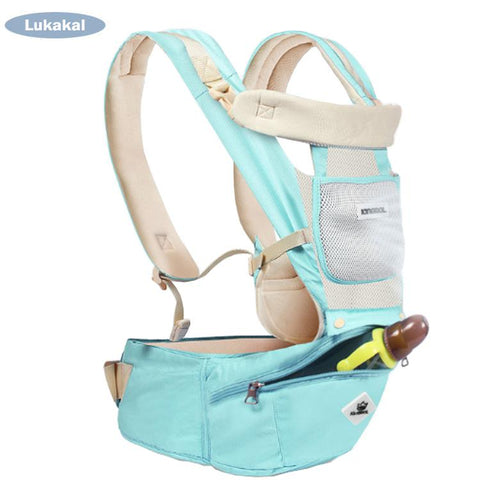Ergonomic Backpack Kangaroo  Style Newborn Ready Baby Carrier