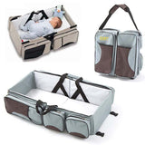 Multi-function Foldable Portable Cot / Mommy Shoulder Bags - Bubs Factory