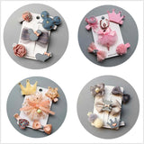 NEW 5-6pcs/set flowers Bowknot Hairpins - Bubs Factory