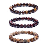 Tiger Eye  Stone Beads Bracelets - Bubs Factory