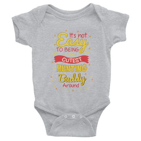 Cutest Hunting Buddy - Infant short sleeve one-piece - Bubs Factory