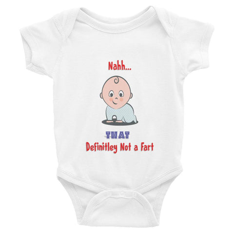 Not Faart - Infant short sleeve one-piece - Bubs Factory