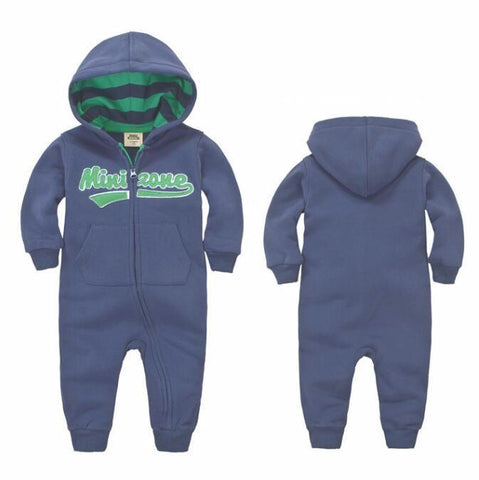Long Sleeve Baby Jumpsuit - Bubs Factory