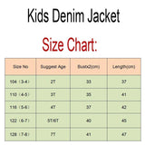 Denim Baby Hoody Jackets - Bubs Factory