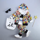 Kids Print Cartoon Clothing Sets - Bubs Factory