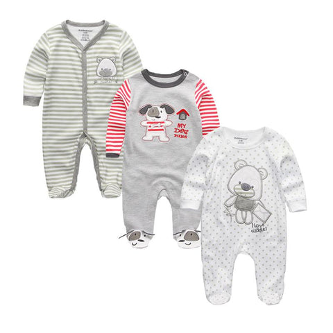 Newborn Long Sleeve Baby Rompers