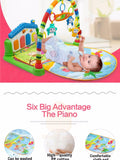 Infant Music Rattle Activity Play Mat - Bubs Factory