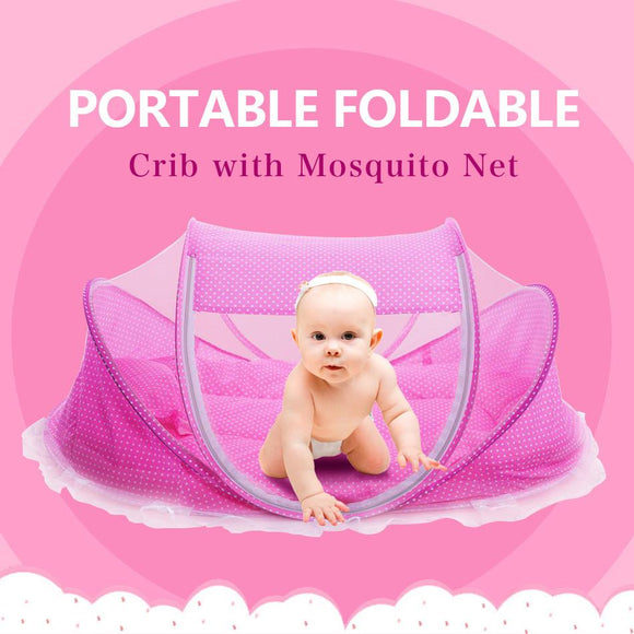 Foldable Baby Crib - Bubs Factory
