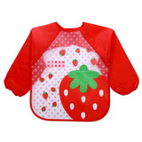 Long Sleeve Full Body Cover Waterproof Baby Bibs - Bubs Factory