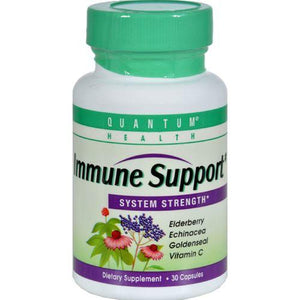 Quantum Health Immune Support System Strength - 30 Capsules