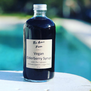 Vegan Organic Elderberry Syrup