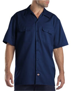 Angry Beaver Knives Custom Work Shirts - Dickies 1574 Short Sleeve Work Shirt