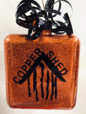 Copper Shed Ornament