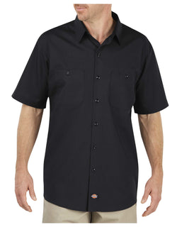 Rev Nation Custom Work Shirts -Dickies LS516 Industrial WorkTech Short Sleeve Ventilated Performance Shirt