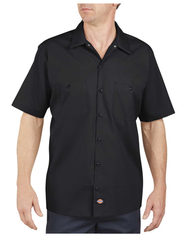VooDoo Resins Custom Work Shirts - Dickies LS535 Industrial Short Sleeve Work Shirt
