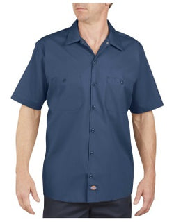 Rev Nation Custom Work Shirts - Dickies LS535 Industrial Short Sleeve Work Shirt