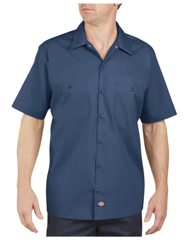 Angry Beaver Knives Custom Work Shirts - Dickies LS535 Industrial Short Sleeve Work Shirt