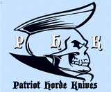 Patriot Horde Custom Work Shirts -Dickies LS524 Industrial Color Block Short Sleeve Shirt