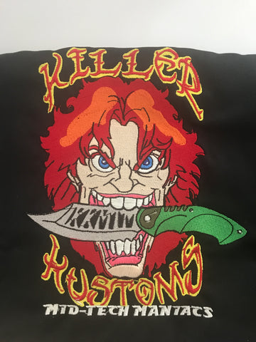 Killer Kustoms Custom Work Shirts -Dickies LS516 Industrial WorkTech Short Sleeve Ventilated Performance Shirt
