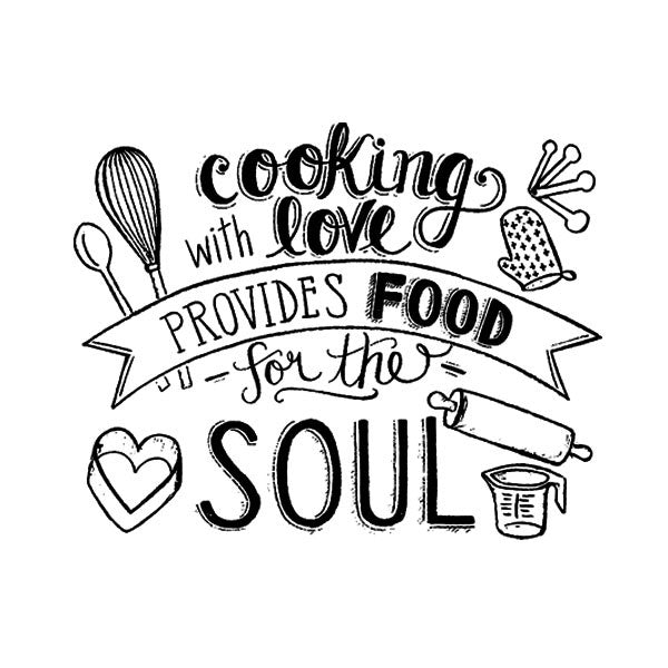 Cook for the Soul w/Lid & Spoon