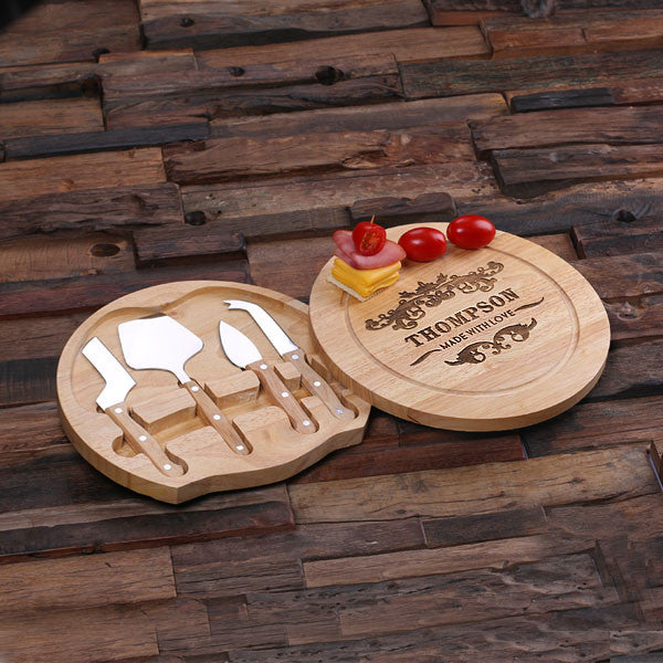 Cheese Tray w/Hidden Tools