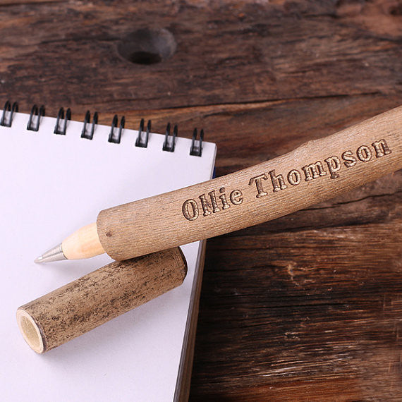 Tree Branch Wood Pen