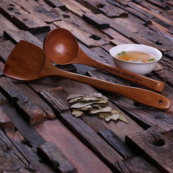 Spoon and Spatula Set
