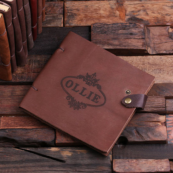 Leather Travel Diary & Sketchbook