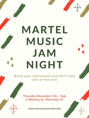 December 5th Jam Night!