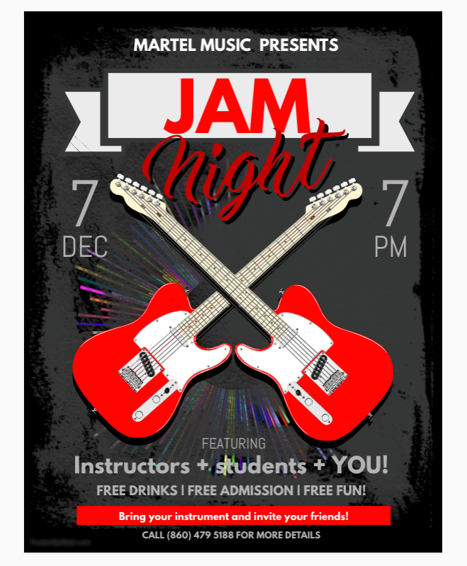 Join us for Jam Night!