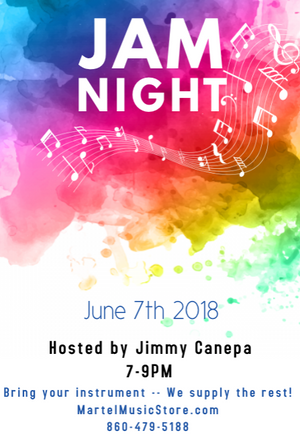 Join us Thursday for Jam Night!