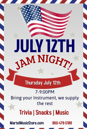 Jam Night in July!