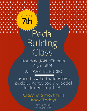 Interested in learning how to build effects pedals?