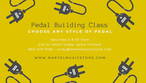 Now Booking: Pedal Building Class February 8th