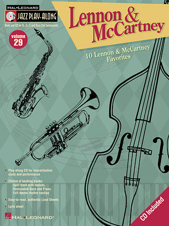 Hal Leonard Lennon & McCartney Jazz Play-Along