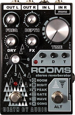 Death By Audio ROOMS - Stereo Digital Reverb