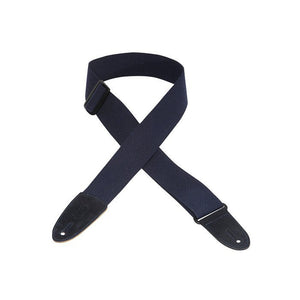 Levy's Navy Cotton Guitar Strap