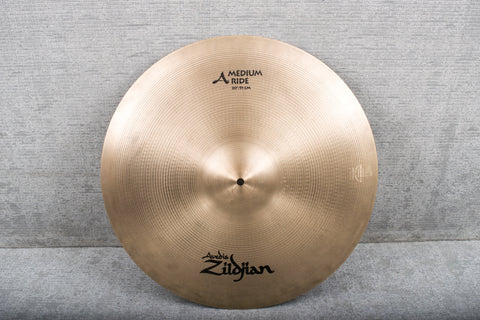 "Used Zildjian 20"" A Zildjian Medium Ride Cymbal"