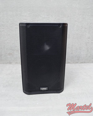 Used QSC K10 1000-watt powered PA speaker