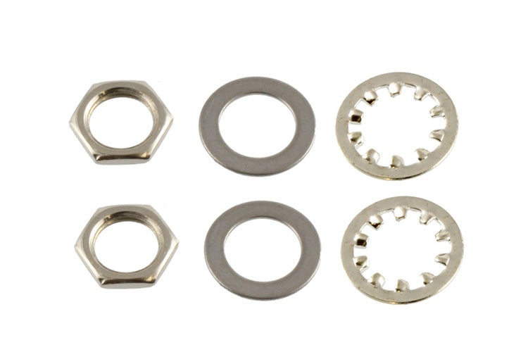 Nuts and Washers for US Pots and Jacks - No finish