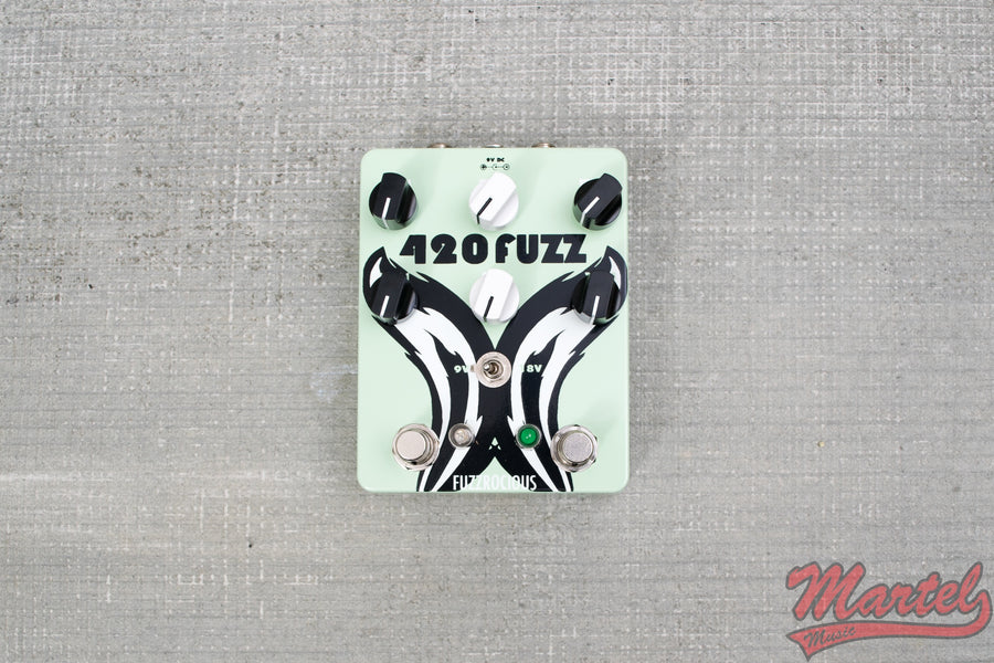 Fuzzrocious 420 V2 Fuzz - Martel Music Exclusive Mint Green