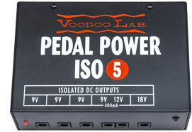 Voodoo Lab Pedal Power ISO-5 120V