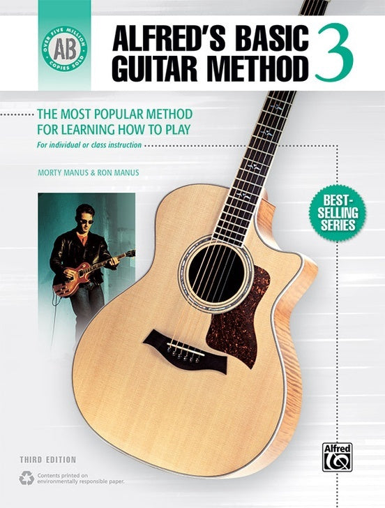 Alfred Basic Guitar Method Book 3