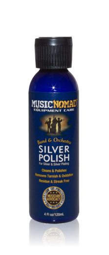 The Music Nomad Silver Polish for Silver & Silver Plating