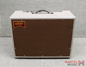Benson Monarch Reverb 1x12 Combo - Stripes W/ Oxblood