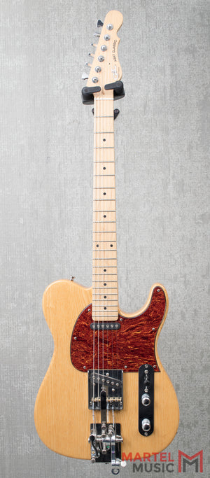 Used G&L Limited Edition ASAT Classic Tribute - Natural - w/ Hipshot B Bender