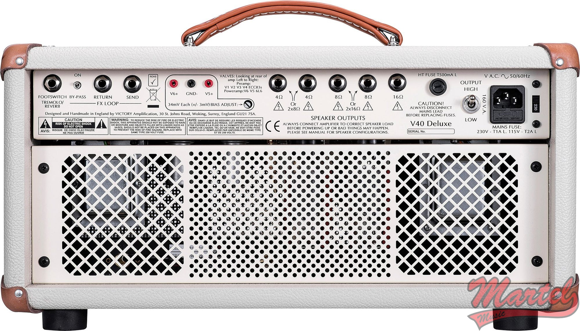 Victory V40H Deluxe Amplifier Head (42 Watts)