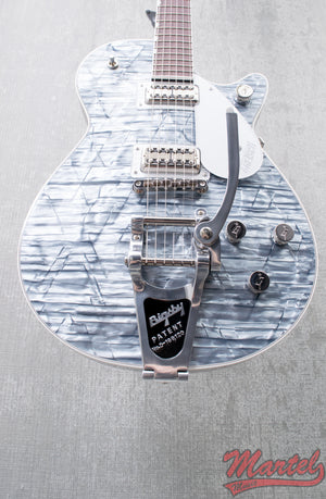 Gretsch G6129T Limited Edition Players Edition Jet FT with Bigsby, Light Blue Pearl