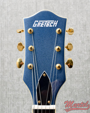 Gretsch G5422TG Limited Edition Electromatic Hollow Body Double-Cut W/ Bigsby & Gold Hardware, Midnight Sapphire