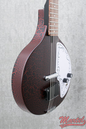 Danelectro Baby Sitar - Red Crackle